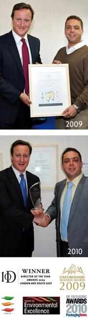 Polythene UK meets PM David Cameron again