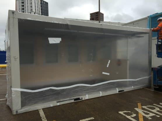 Modular Building Covers