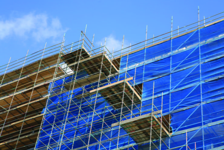 what is scaffold sheeting